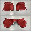 Комплект Килимків 3D Toyota Prado 150 + дод килимки ПВХ, фото 3