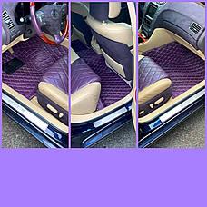 Комплект килимків з екошкіри для Maserati GranTurismo, фото 3