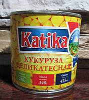 Кукуруза деликатесная Katika 340 гр