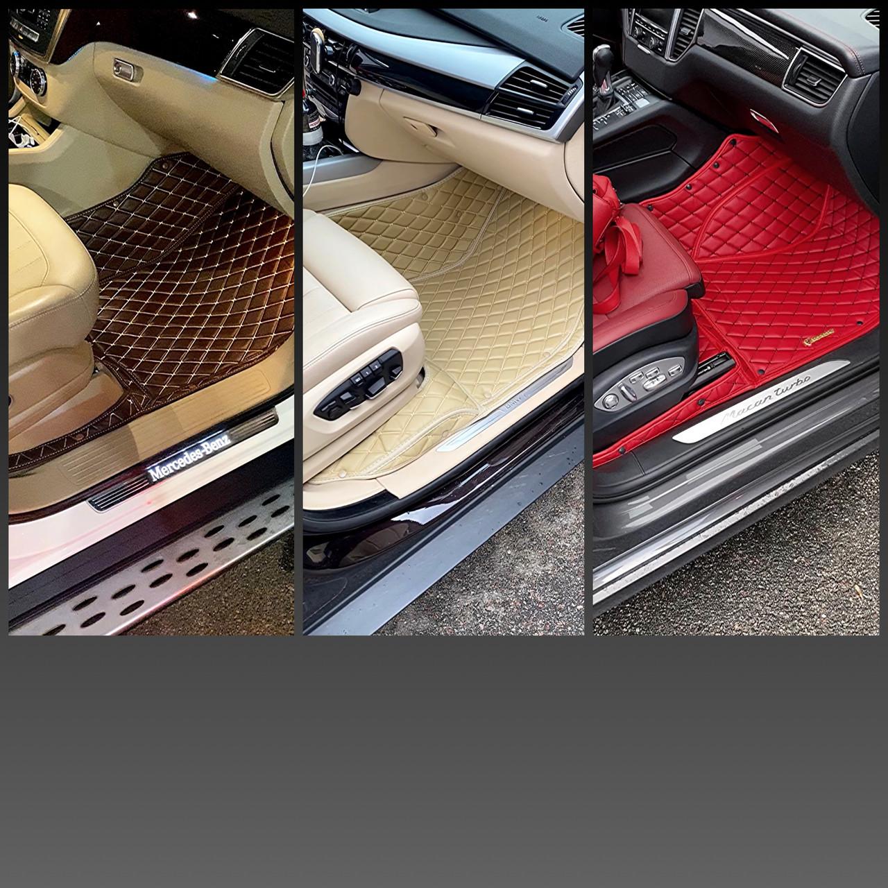 Комплект ковриков из экокожи для Bmw 5-series F10, от 2012 года