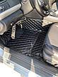 Комплект ковриков из экокожи для Bmw 5-series F10, от 2012 года, фото 4