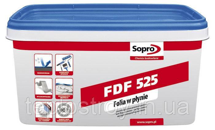 Гидроизоляционный раствор Sopro FDF 525 (3 кг)