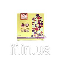 Презервативи в крапку для додаткової стимуляції Elasun (3 шт)