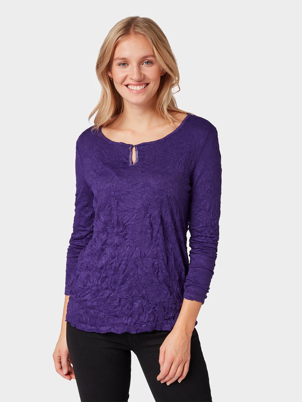 Блуза Tom Tailor 1006644 3XL Фиолетовый