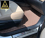 3D Коврики на Toyota RAV4 из Экокожи (2013-2018), фото 6