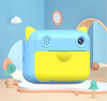 Камера моментальной печати Nomo Mini Голубая