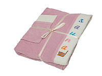 Набор для сауны Gursan Cotton женский, 3 предмета, 100% хлопок, 4095_gursan_sauna_set_cot
