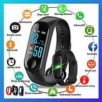 Фитнес трекер Xiaomi Mi band 5, Fitnes tracker M5, часы для фитнеса, smart watch смарт годинник РЕПЛИКА Tor
