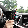 Автодержатель для телефона Hoco CA37 Black/Grey, фото 4