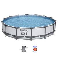 Бассейн каркасный Bestway 427*84 см, с картриджным фильтр-насосом