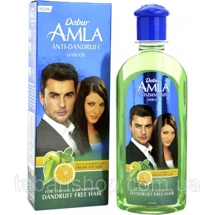 Масло для волосся проти лупи Дабур Амла, 100мл