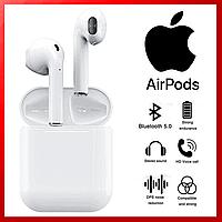 Наушники Apple AirPods i120, беспроводные наушники Apple AirPods, bluetooth наушники Apple Air Pods 555