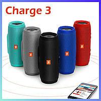 Портативная Bluetooth колонка JBL CHARGE 3 , беспроводная блютуз колонка 555