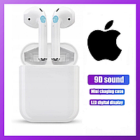 Наушники Apple AirPods i200, беспроводные наушники Apple AirPods, bluetooth наушники Apple Air Pods 555