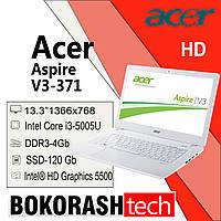 "Ноутбук Acer Aspire V3-371 / 13.3""/  Intel Core i3-5005U / DDR3-4GB / SSD-120GB (к.00117619), фото 1"