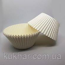 """Паперові форми для кексів БІЛІ """"арт 7А"""" (уп.100шт)"""