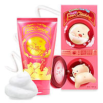 Ягодная пенка для умывания Elizavecca Clean Piggy Pink Energy Foam Cleansing 120 мл, фото 4