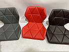 Барный стул Торино коричневая экокожа TORINO BAR 4 BK-BASE черная база, фото 3