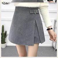 """Юбка-шорты женская короткая размеры S-XL """"VIOLA"""" купить недорого от прямого поставщика"""