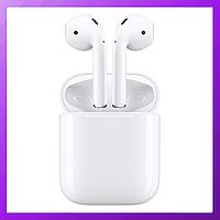 Наушники беспроводные Apple Airpods  i125-  White Edition с микрофоном, Bluetooth наушники Sonic