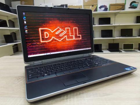 Потужний Ноутбук DELL E6520 + (Intel Core i7) + Full HD IPS матриця + Гарантія