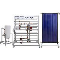 """Лабораторний Стенд """"Енергозберігаючі технології. Сонячна установка з плоским колектором"""" НТЦ-20.83"""