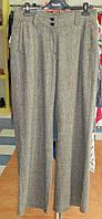 Широкі штани з сірого твіду Solar., фото 1