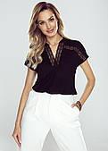 Eldar блуза Marlena черного цвета. Коллекция весна-лето 2021
