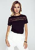 Eldar блуза Narine черного цвета. Коллекция весна-лето 2021
