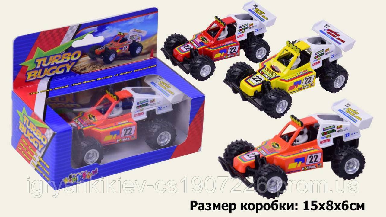 """Модель легкова 5"""" KS5106W TURBO BUGGY метал.инерц.кор./144/"""