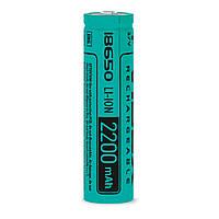 Аккумулятор литий-ионный 18650(без защиты) 2200mAh  Videx