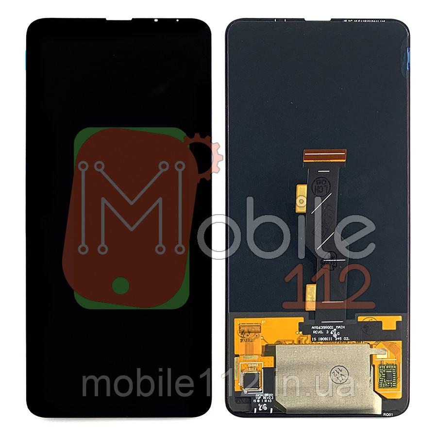 Экран (дисплей) Xiaomi Mi Mix 3 M1810E5A + тачскрин черный OLED Big Glass