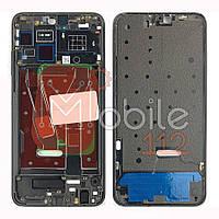 Рамка дисплея Huawei Honor 8X JSN-L22 JSN-L42 JSN-L11, JSN-L21 JSN-L21 черная