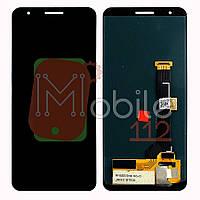 Экран (дисплей) Google Pixel 3A G020A G020E G020B + тачскрин черный OLED