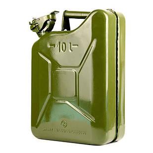 ✅Канистра для бензина металлическая 10л, Каністра металева Yates Steels Jerry Can Велика Британія