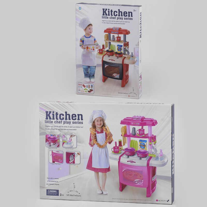 Кухня WD-P 15 / R15 (8) 2 вида, свет, звук, течет водичка, в коробке