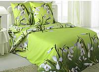 Комплект постельного белья Подснежник | Полуторный | Бязь белорусская