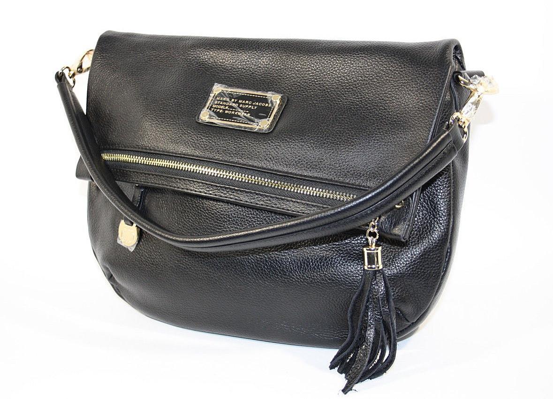 f3784085512b Сумка малая кожаная женская черная Marc Jacobs 10669 - купить по ...