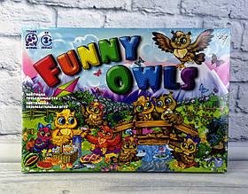 """Настольная игра по ходам """"Funny Owls"""" DTG98 Danko-Toys Украина"""