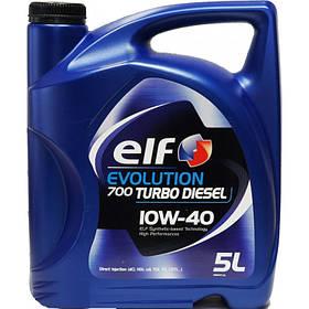 Elf evolution 700 turbo diesel 10w 40  ( ACEA : A3/B4, VW501.01/505.00) 5 L (Полусинтетика) Франция 194864