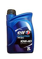 Моторное масло elf evolution 700 sti 10W40 (Полусинтетика) 1Л (ACEA A3/B4, API SL/CF) Франция  194866