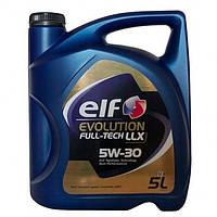 Elf evolution full tech llx 5w 30 Моторное масло Синтетика 5Л ( ACEA C3 , VW504.00/507.00