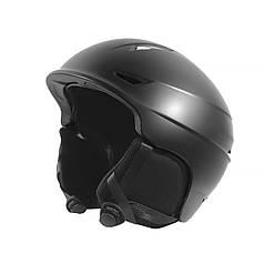 Захисний гірськолижний шолом Helmet 001 Black для катання на лижах, сноуборді