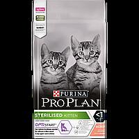Purina Pro Plan Sterilised Kitten 0,4 кг корм для кошенят