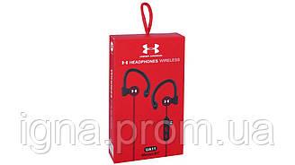 Навушники Under Armour UA11 Black - Бездротові, Вакуумні, Кольорова коробка