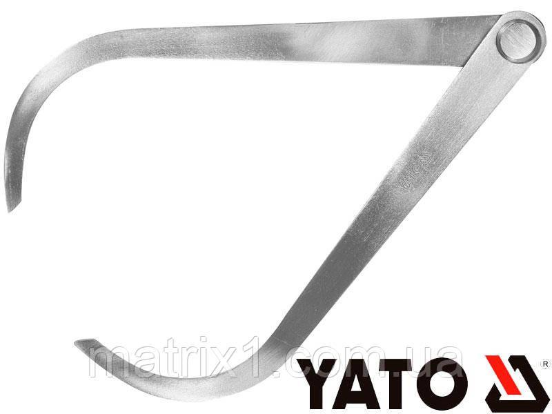 Кронциркуль для наружных измерений измерений YATO 150 мм