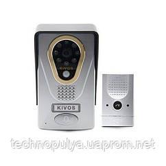 IP WiFi відеодомофон KIVOS KDB400 із записом