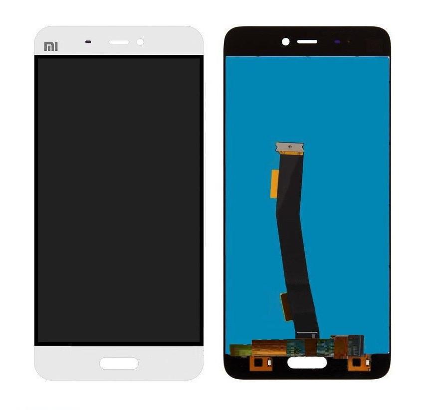 Дисплей для Xiaomi Mi5 | Mi5 Pro с сенсорным стеклом (Белый) Оригинал Китай