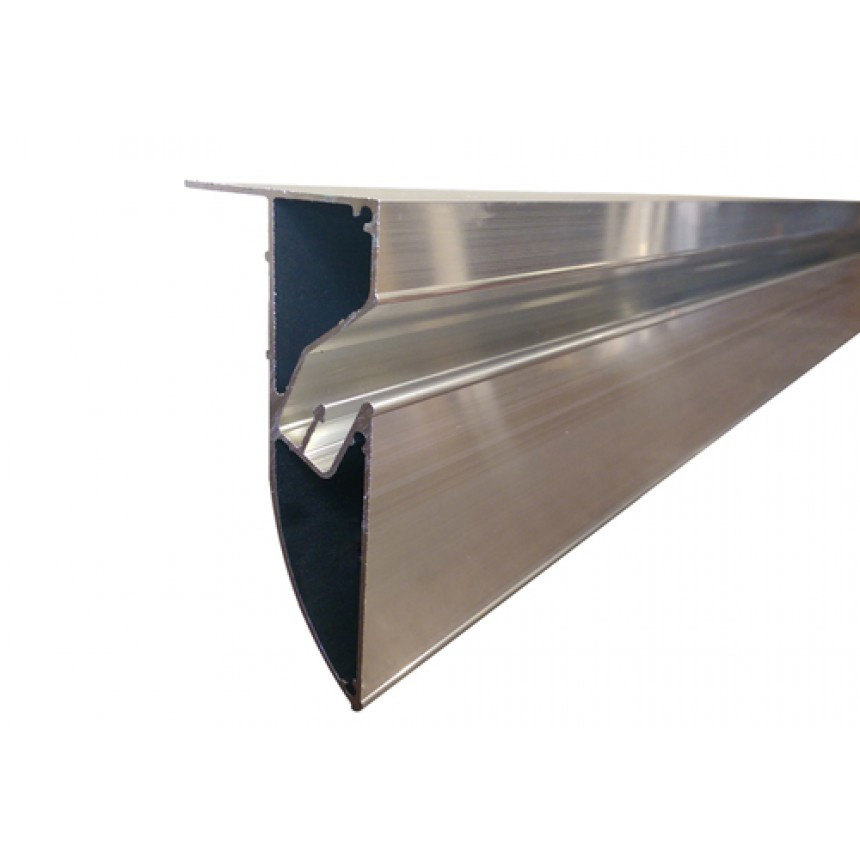 Профіль алюмінієвий для натяжних стель ПФ6989 «безщелевий»