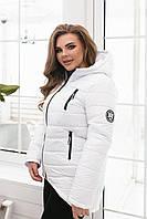 Куртка парка арт. 300 белая